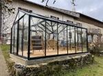 Serre orangerie ACD Hélène - 15,8m² verre sécurité 4mm
