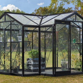 AURÉLIE : Serre de jardin en verre ACD, 10,26 m²