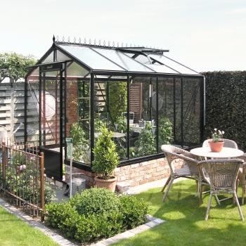 R204 : Serre de jardin en verre ACD, 6,91 m²