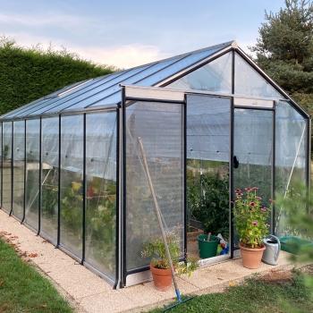R307 : Serre de jardin en verre ACD, 15,88 m²
