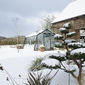 S106 : Serre de jardin en verre ACD, 13,62 m²